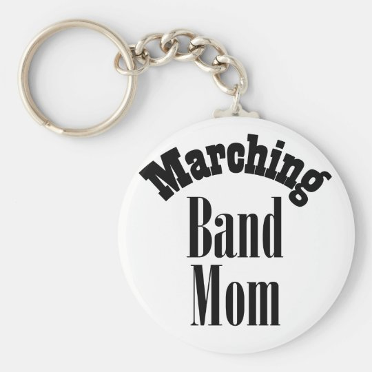 Guitar Marching  Band  Mom Key Chain