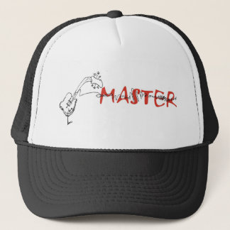 guitar master trucker hat