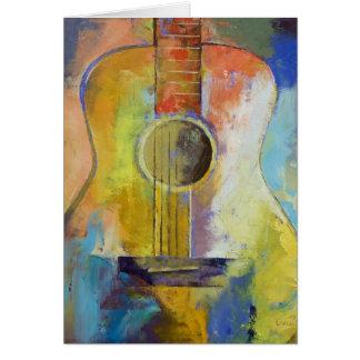Guitar Melodies Card