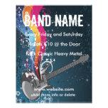 Guitar Music Flyer
