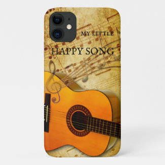Guitar Music Happy Song Phone Case