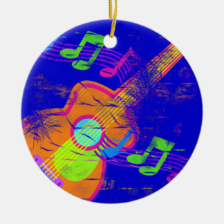 Guitar Music Ornament