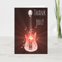 Guitar Music Theme Thank You