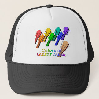 GUITAR music Trucker Hat