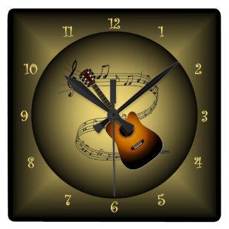 Music Scales Wall Clocks Zazzle