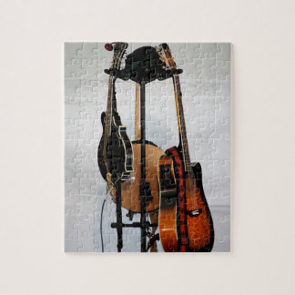 Guitar Musical Instruments Puzzle