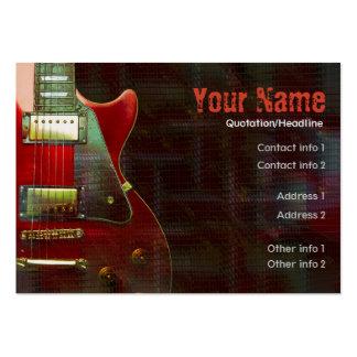 GUITAR Musicalia Business Card