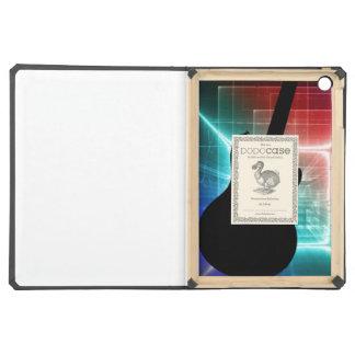 Guitar Musician iphone ipad, smart phone YOUR TEXT iPad Air Cover