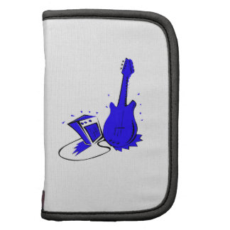 Guitar n amp stylized blue flat graphic organizer