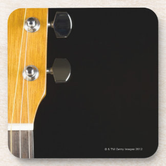 Guitar Neck and Head Beverage Coasters