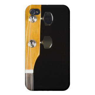 Guitar Neck and Head iPhone 4/4S Case