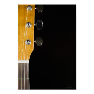 Guitar Neck and Head Posters