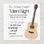 Guitar Night Invitation