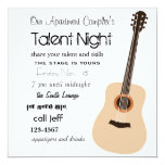 Guitar Night Invitation