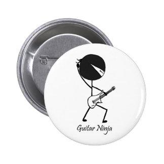 Guitar Ninja Pin