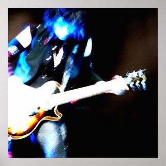Guitar One P Print