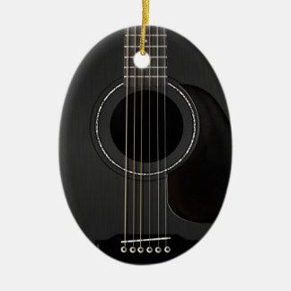 Guitar Ornament Black