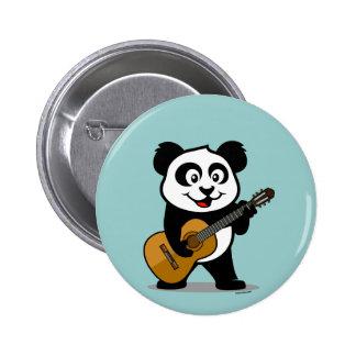 Guitar Panda Pin