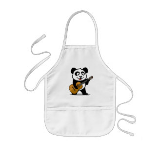 Guitar Panda Kids' Apron