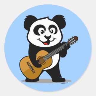Guitar Panda Sticker