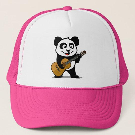 Guitar Panda Trucker Hat