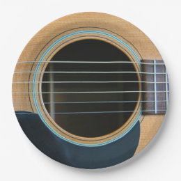 Acoustic Guitar Plates Zazzle & Astounding Paper Plate Guitar Contemporary - Best Image Engine ...