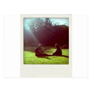 Guitar, Peace, Freedom, Nature - ReasonerStore Postcard