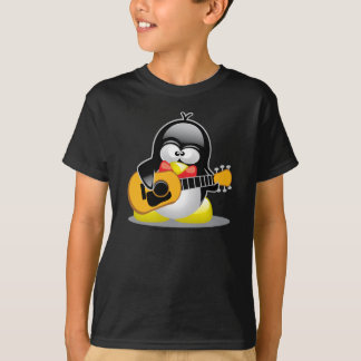Guitar Penguin T-Shirt