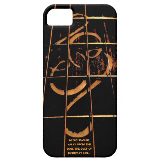 Guitar Phone Cover, Fretboard Inlay iPhone 5 Cases