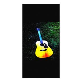 Guitar Photo Card