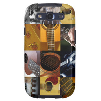 Guitar Photo Collage Galaxy S3 Cover