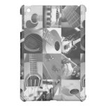 Guitar Photography Collage - black and white Case For The iPad Mini