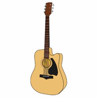 Guitar Standing Photo Sculpture
