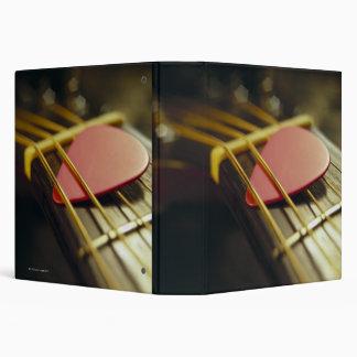 Guitar Pick 3 Ring Binders