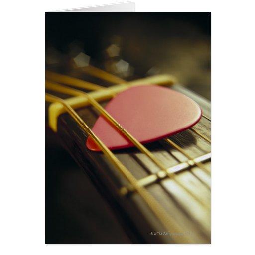 Guitar Pick Card