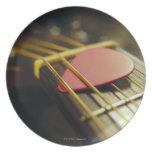 Guitar Pick Dinner Plate