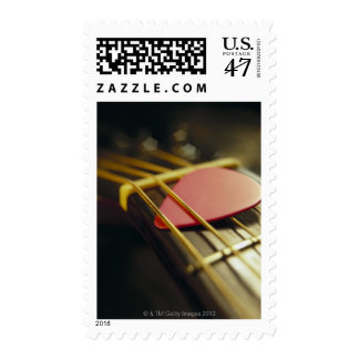 Guitar Pick Postage Stamp
