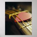 Guitar Pick Poster