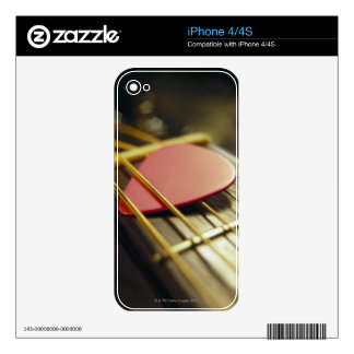 Guitar Pick Skins For The iPhone 4