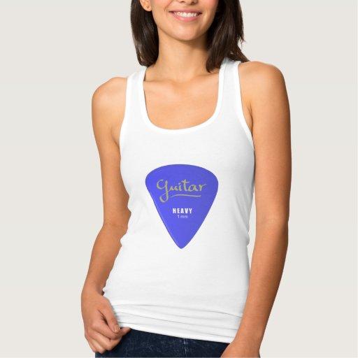 Guitar Pick T-shirt Tank Tops, Tanktops Shirts