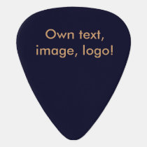 Guitar Pick uni Dark Blue