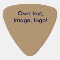 Guitar Pick uni Gold