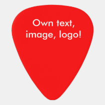 Guitar Pick uni Red