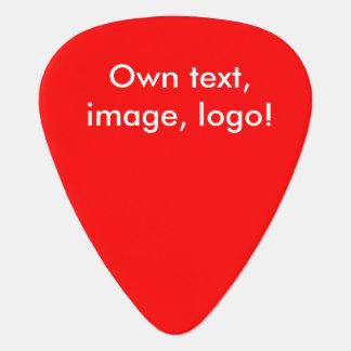 Guitar Pick uni Red