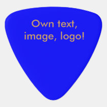 Guitar Pick uni Royal Blue