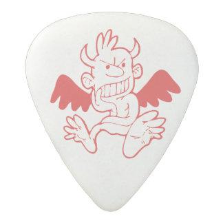 Guitar pick winged imp