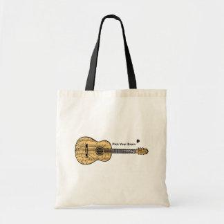 Guitar: Pick Your Brain Canvas Bag