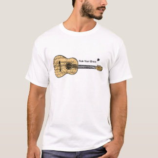 Guitar: Pick Your Brain T-Shirt