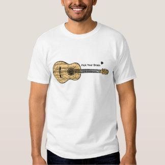 Guitar: Pick Your Brain Tee Shirt