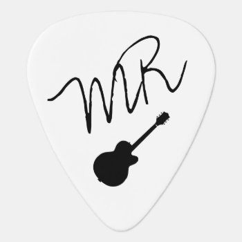 Guitar-picks Personalised For The Guitarman Guitar Pick by mixedworld at Zazzle